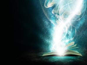 books magic black background light blue 1280x960 wallpaper_www.wall321.com_31