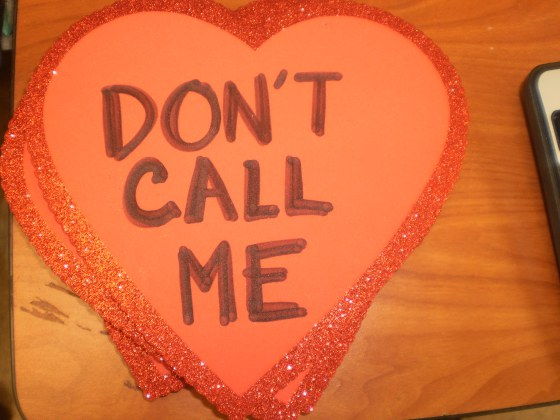 don't call me heart